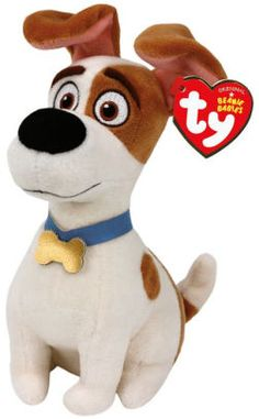 The Secret Life of Pets: TY Max - Terrier Regular stuffed pets from the Secret Life of Pets Movie (aff link)