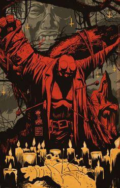 Hellboy in Mexico. Francesco Francavilla