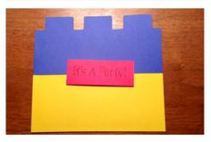 Lego Party Invitations by partiesbloom on Etsy, $3.50