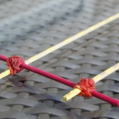 Learn to make your own hairpin lace loom with stuff you already have around the house - it'll cost you close to nothing!