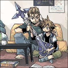 Kingdom Hearts | Demyx & Sora