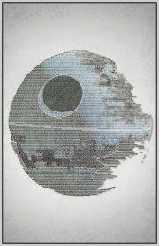 Return of the Jedi Typography Print