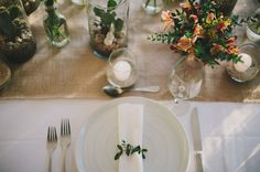 simple Mexico tablescape