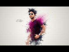 Photoshop tutorials   Splatter / Dispersion photo manipulation Tutorial - YouTube