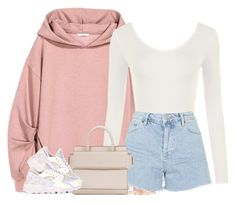 """""""1   16   17"""" by kahla-robyn ❤ liked on Polyvore featuring WearAll, Topshop, Givenchy, NIKE and Harry Winston"""