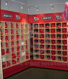 Ball Cap Wall Cabinet   Baseball Hat Display Wall Fixture ...