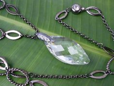 Galadriel's phial necklace (Etsy). Simply stunning.