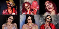 Rétrospective : un an de maquillage - jenni dans tous ses états