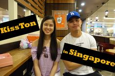 Watch our short yet sweet interview with KissTon (Kisses Delavin & Tony Labrusca) upon their arrival in Singapore: Tony Labrusca, Kisses, Singapore, Interview, Blowing Kisses, Kiss