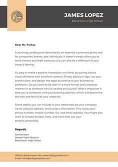 Use this customizable Khaki and Gray Modern School Letterhead template and find more professional designs from Canva. Letterhead Template Word, Letterhead Design, Professional Letterhead, Real Estate Templates, Construction Logo, Data Entry, Personal Branding, Brand Identity, Positivity