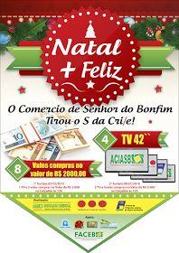 NONATO NOTÍCIAS: CAMPANHA NATALINA FOI LANÇADA NO COMÉRCIO DE BONFI...