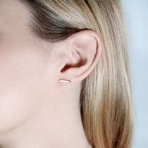 Tada & Toy | Wolf & Badger  #earrings #gold #simply #bar