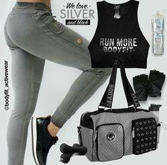Nuevas propuestas con diseños innovadores y comodos  para un #OutfitDeportivo ideal para estar siempre al mejor #EstiloBodyFit #Silver #FitInspiration  #FashionFitness #GymTime #Fitness #Modern #Anathomic #FashionSport #WorkOut #PhotoOfTheDay #LifeStyle #Woman #Shop #Casual #Trendy #NewCollecion #AthleticWear #YoSoyBodyFit #Shop #MusHave #BeOriginal #BodyFit #RopaDeportiva  #StyleRunner #FashionTrends #GetMotivated #SportLuxe #AthleticWear #StudioCollection