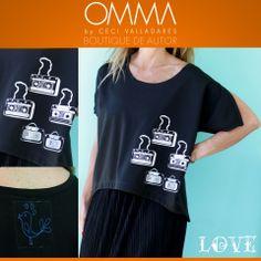 OMMA Remera LOVE Estampas propias edición limitada