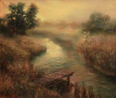 Fog over the river 2015