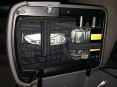 Grid-It Center Console Lid Organizer - No Drilling! - Tacoma World Forums Auto Camping, Truck Camping, Toyota Autos, Toyota Trucks, Toyota 4runner, Ford Trucks, Nissan Navara D40, Nissan Xterra, Jeep Mods