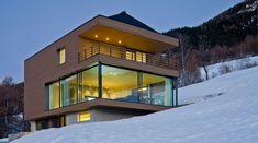 Maison Cube bois