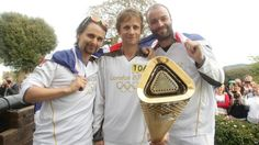 Matt Bellamy, Dominic Howard and Christopher Wolstenholme -Carrying the torch