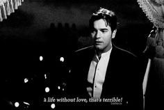 A life without love thats terrible ! Moulin Rouge Movie, Le Moulin, Game Costumes, Ballet Costumes, The Borgias, Defying Gravity, Beautiful Love Stories, Ewan Mcgregor, Tv Quotes