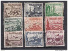 Dt.Reich 1937 MiNo. 651/59 ** (110.-) - £17.53