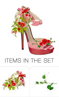 """Little Miss Poppy"" by sjlew ❤ liked on Polyvore featuring art"