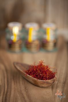Saffron, called azafran in Spain, is the dried stigmas of the Saffron flower (Crocus Sativus). It is a staple in many traditional Spanish meals such as paella, soups, and fish. Spanish Saffron, Saffron Flower, Spanish Food, Paella, Rice, Stuffed Peppers, Foods, Meals, Table Decorations