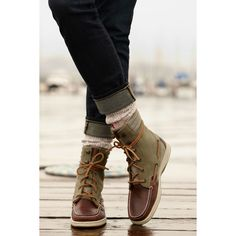 Sperry Top-Sider Women's Hiker Fish Boot....I want these BAD.