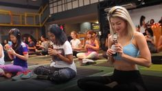 A fitness craze from Germany combining yoga poses while drinking beer is gaining popularity in Asia.