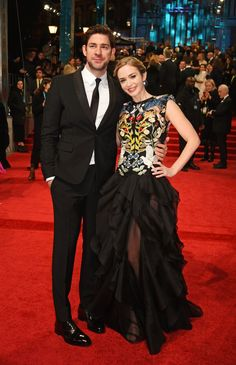John Krasinski et Emily Blunt