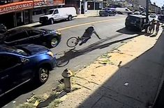 Why Did Police Run This Cyclist Off His Bike?