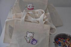 Mini sacolas ecológicas para lembrancinhas