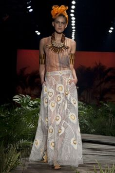 Ronaldo Fraga Spring Summer Ready To Wear 2012 via www.nowfashion.com