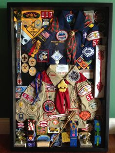 Shadow Box for Eagle Scout Court of Honor