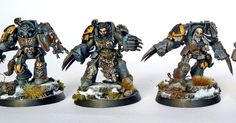 Along with the Tyranids I previously posted I was painting Space Wolves. It almost scary thinking how time flies and how many new rel...