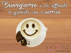 buongiorno a chi affronta la giornata col sorriso