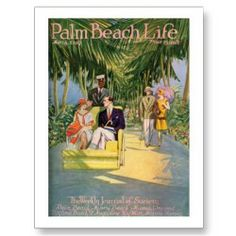 Shop Palm Beach Life print created by GalleryPalmBeach. Palm Beach Miami, West Palm Beach, Vintage Florida, Old Florida, South Florida, Chinoiserie, Breakers Palm Beach, Design Your Own Poster, Beach Bungalows