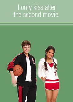 High School Musical valentine's day cards