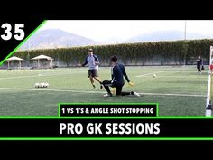 1 vs & Angle Shot Stopping Soccer Drills, Soccer Coaching, Soccer Tips, Soccer Sports, Nike Soccer, Soccer Cleats, Cristiano Ronaldo Lionel Messi, Neymar, Youtube Soccer