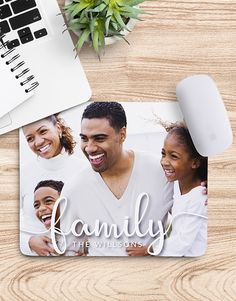 gifts: Personalised Family Photo Mouse Pad! Upload a family photo to be printed on this mouse pad. The stationery gift celebrates family and it will act as a constant reminder fo what is truly important in life. Have a look at our stationery range for more corporate gifts. Order for gift delivery nationwide! Gift Delivery, Corporate Gifts, Family Photos, Acting, Stationery, Polaroid Film, Range, Printed, Celebrities