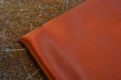 Paprika Satin Silk Fabric