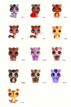 Nicole`s LPS blog - Littlest Pet Shop: Pets: Sugar Glider
