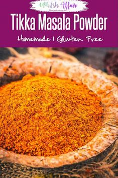 Tikka Masala Spice Mix Tikka Masala Spice Mix is a fine motley of aromatic and strong spices that end up granting the quintessential flavour to any delicacy for which it is used! Homemade Spice Blends, Homemade Spices, Homemade Seasonings, Spice Mixes, Paneer Tikka, Podi Recipe, Dhokla Recipe, Masala Powder Recipe, Cooking