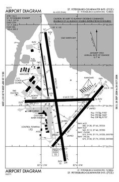 Pie Airport Map
