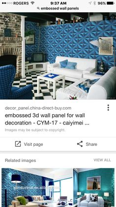 Great for a feature wall but not the color