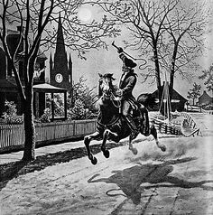 In 1774 and the Spring of 1775 Paul Revere was employed by the Boston Committee of Correspondence and the Massachusetts Committee of Safety as an express rider to carry news, messages, and copies of resolutions as far away as New York and Philadelphia. On the evening of April 18, 1775, Paul Revere was sent for by Dr. Joseph Warren and instructed to ride to Lexington, Massachusetts, to warn Samuel Adams and John Hancock that British troops were marching to arrest them. After being rowed…