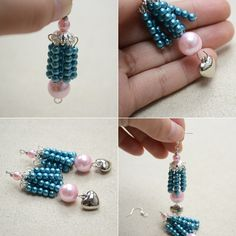 Love the pearl beads dangle earrings? Check more details from Pandahall.com