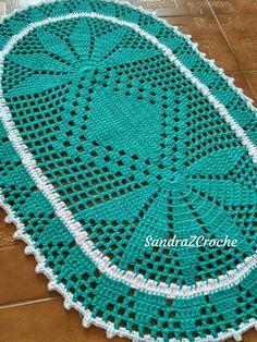 Crochet Paso A Paso Aprender 63 New Ideas Crochet Mat, Crochet Dollies, Crochet Table Runner, Crochet Tablecloth, Crochet Stitches, Doily Patterns, Knitting Patterns, Crochet Patterns, Cable Knitting