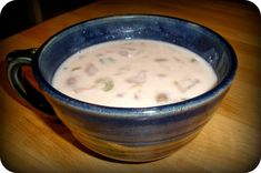 See the Blue Sky: Clam Chowder-S