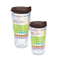 Tervis® Periodic Table of Elements Wrap Tumbler with Lid - BedBathandBeyond.com