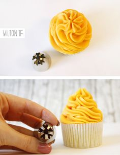 Cupcakes Lovers : {Cupcake Decorating} Basic Icing/Frosting Piping Techniques: How To Frost Cupcakes With Piping Tips.